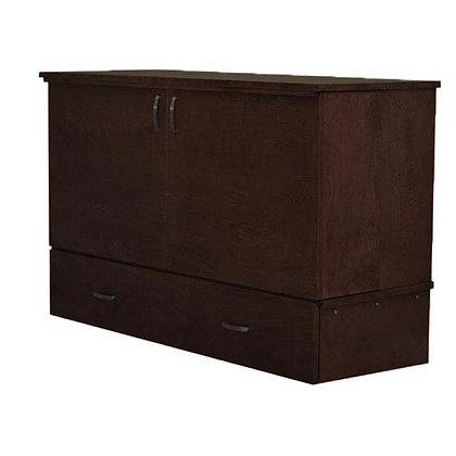 Park Avenue Deluxe Cabinet Bed in Espresso