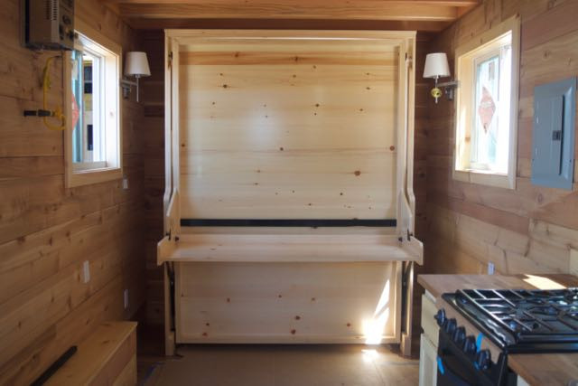 Regal Hiddenbed installed in a Tiny Home