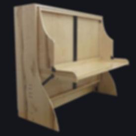 murphy bed - murphy bed with desk - hiddenbed - desk bed
