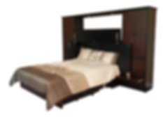 Premum Cabinet Bed with Pier Cabinets