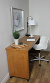 Murphy bed desk cart