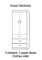 Murphy Bed wide wardrobe cabnet