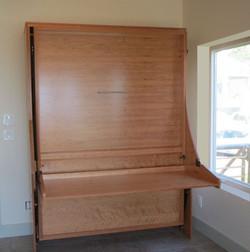 Majestic desk bed - Cherry