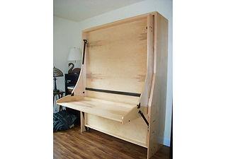 Hiddenbed Space Saving Desk Bed