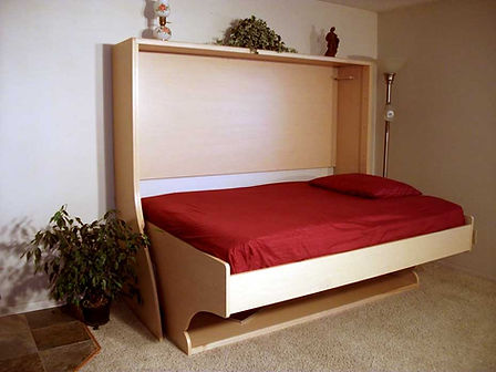 murphy bed - hiddenbed - desk  bed - small space furniture