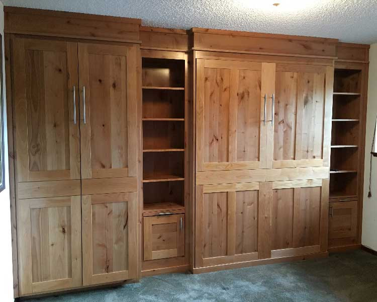 Murphy Bed / wall bed with aditional cabinetry