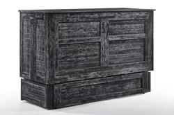 Poppy Cabinet Bed in Blizzard finish