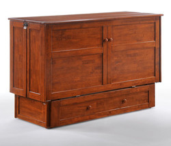 Clover Cabinet Bed in Cherry