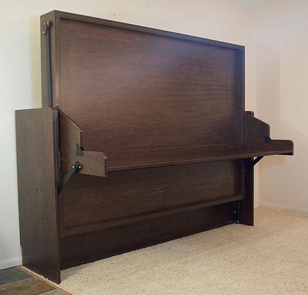 Murphy bed - Murphy bed with desk - Hiddenbed