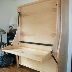 Majestic desk bed - Birch