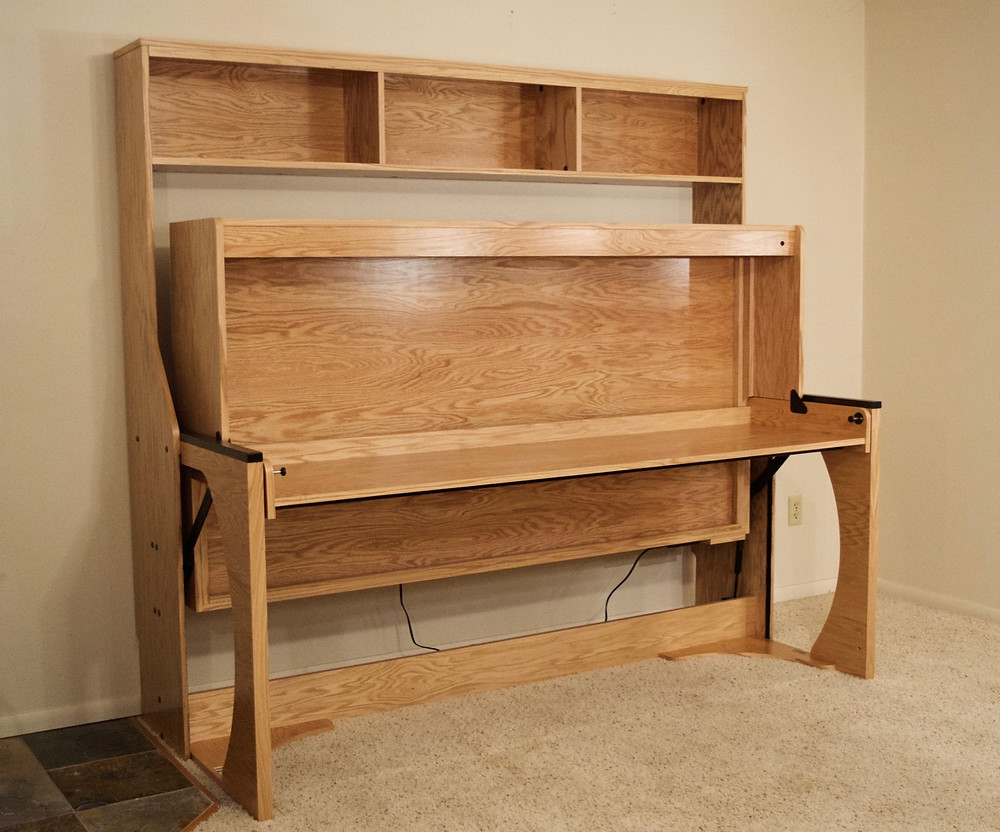 Studio master desk bed. It's like a murphy bed with desk