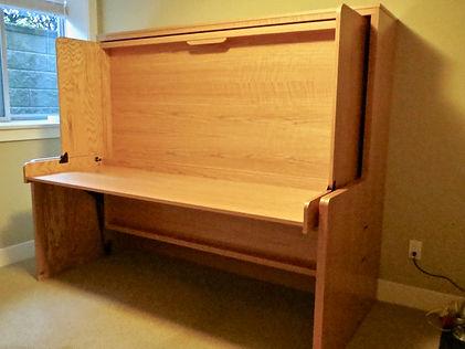 hidden bed - murphy bed - murphy bed with desk