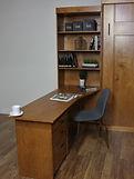 Murphy bed peninsula desk