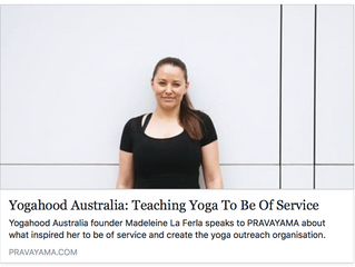 Teaching Yoga to Be of Service