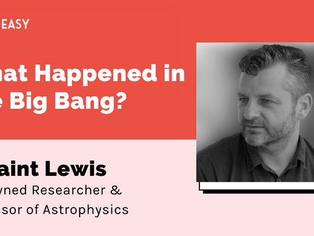 SpeakEasy: What happened in the Big Bang?