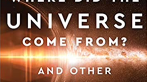 Publication Day! Where did the universe come from?