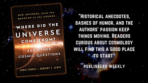 """""""Readers curious about cosmology..."""