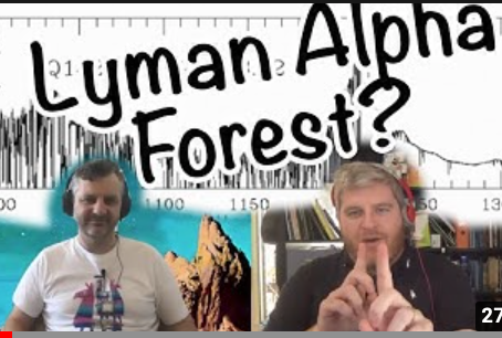 What is the Lyman Alpha Forest?