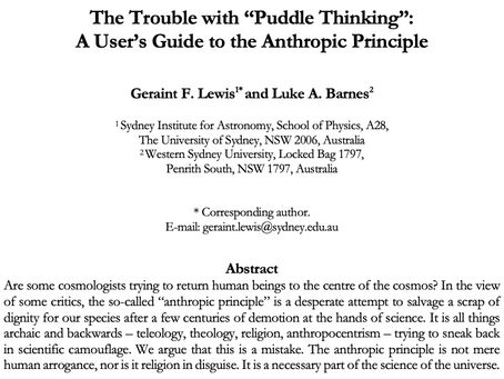 "The Trouble with ""Puddle Thinking"""