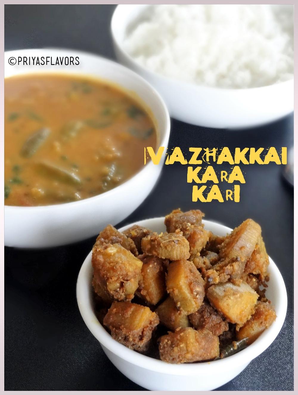 vazhakkai kara curry