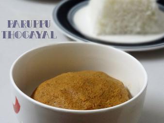 PARUPPU THUVAYAL / THOGAYAL