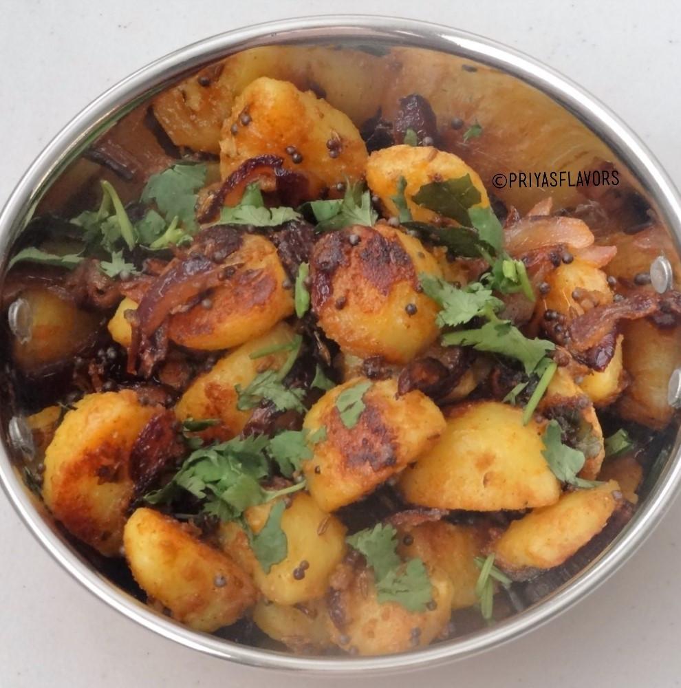 Potato Poriyal