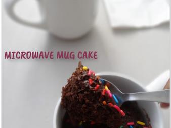 MICROWAVE CHOCOLATE CAKE / MUG CAKE