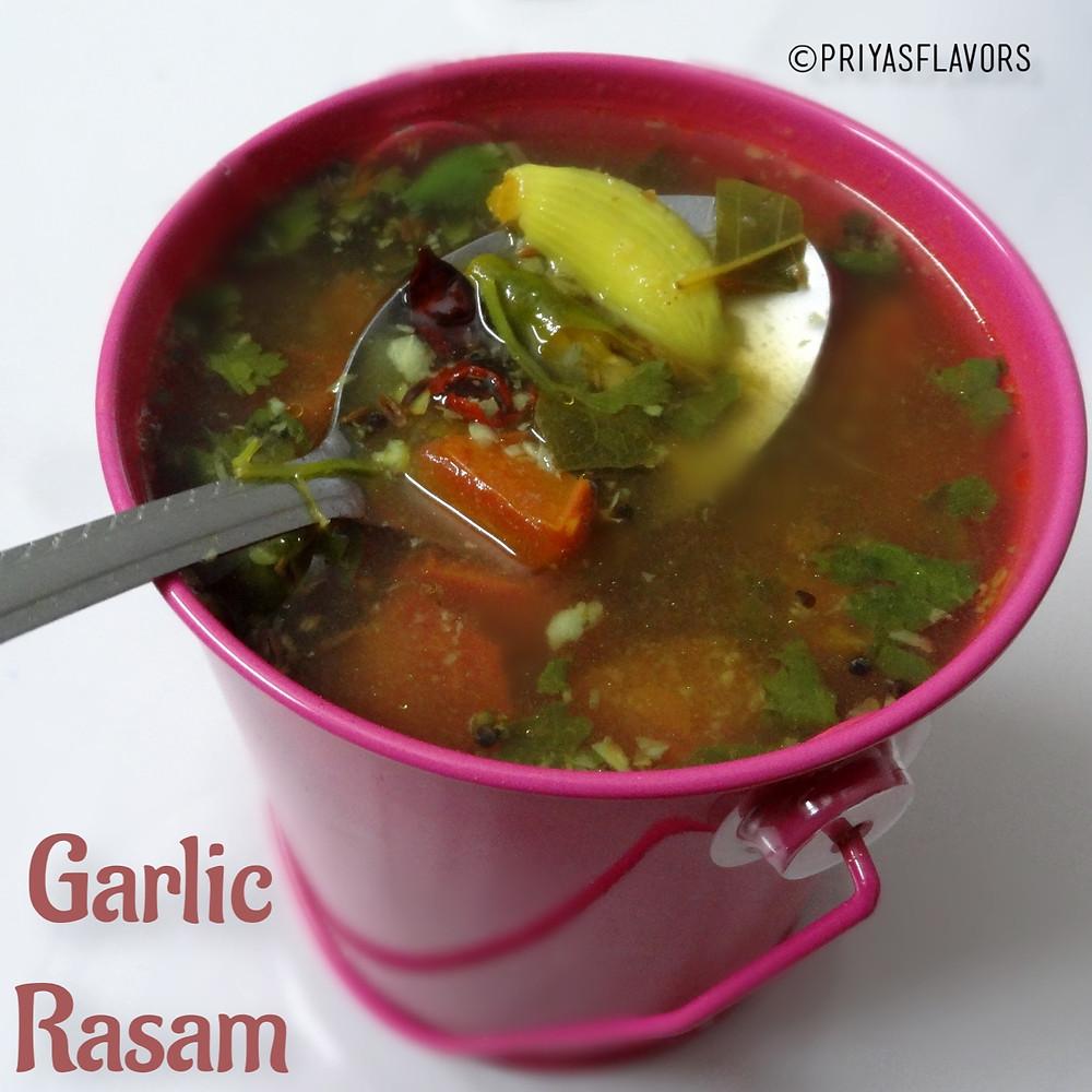 garlic rasam
