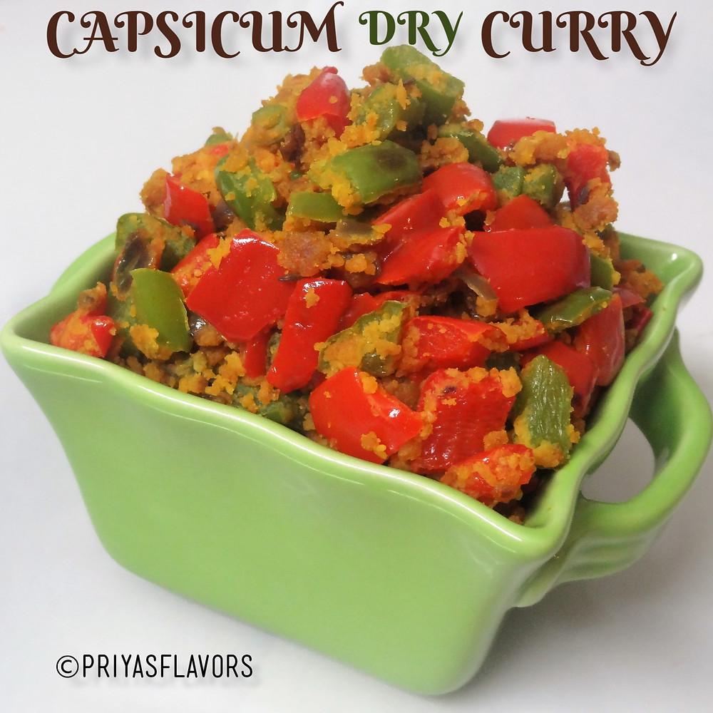Capsicum Stir Fry