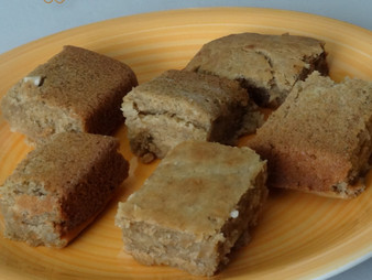 EGGLESS BANANA WHEAT CAKE