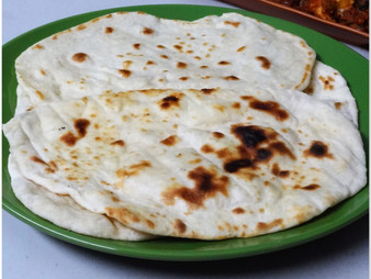 BUTTER NAAN (YEAST FREE & STOVE TOP)