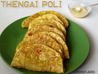 COCONUT POLI / THENGAI POLI