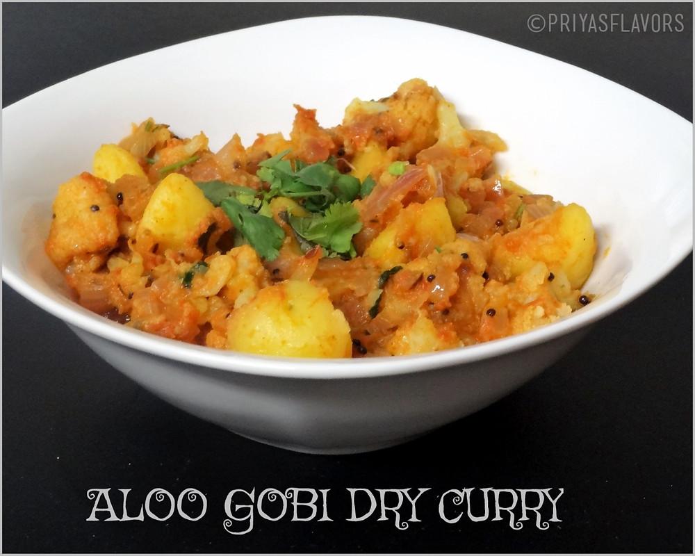 aloo gobi dry curry