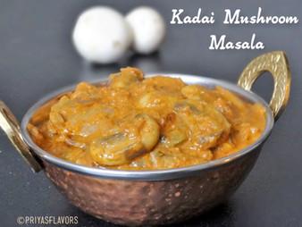 KADAI MUSHROOM MASALA / GRAVY