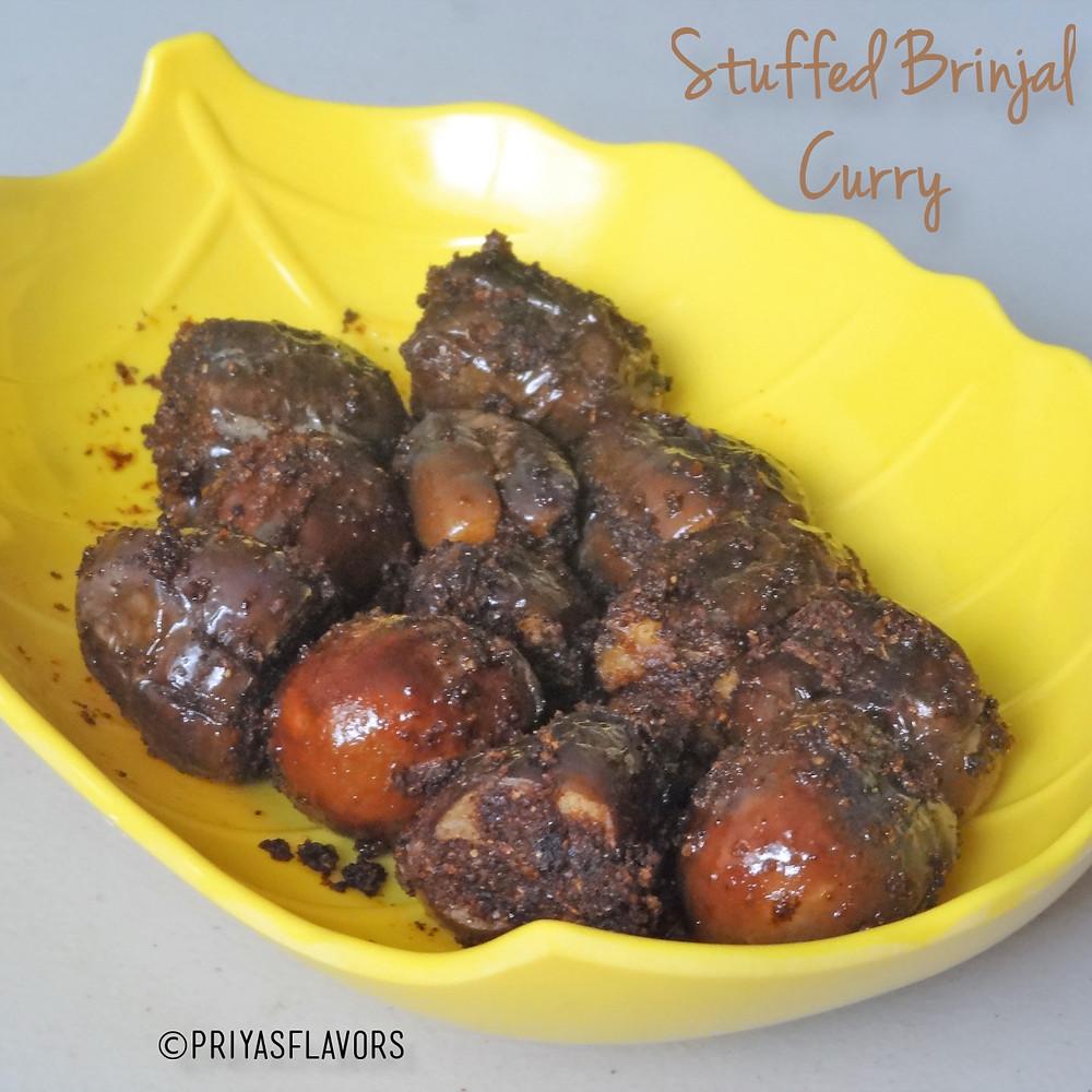 stuffed brinjal poriyal