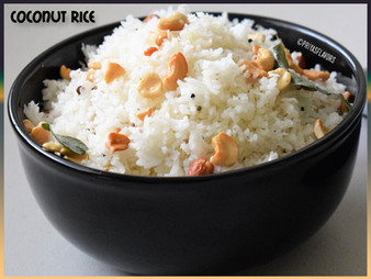 COCONUT RICE / THENGAI SADHAM
