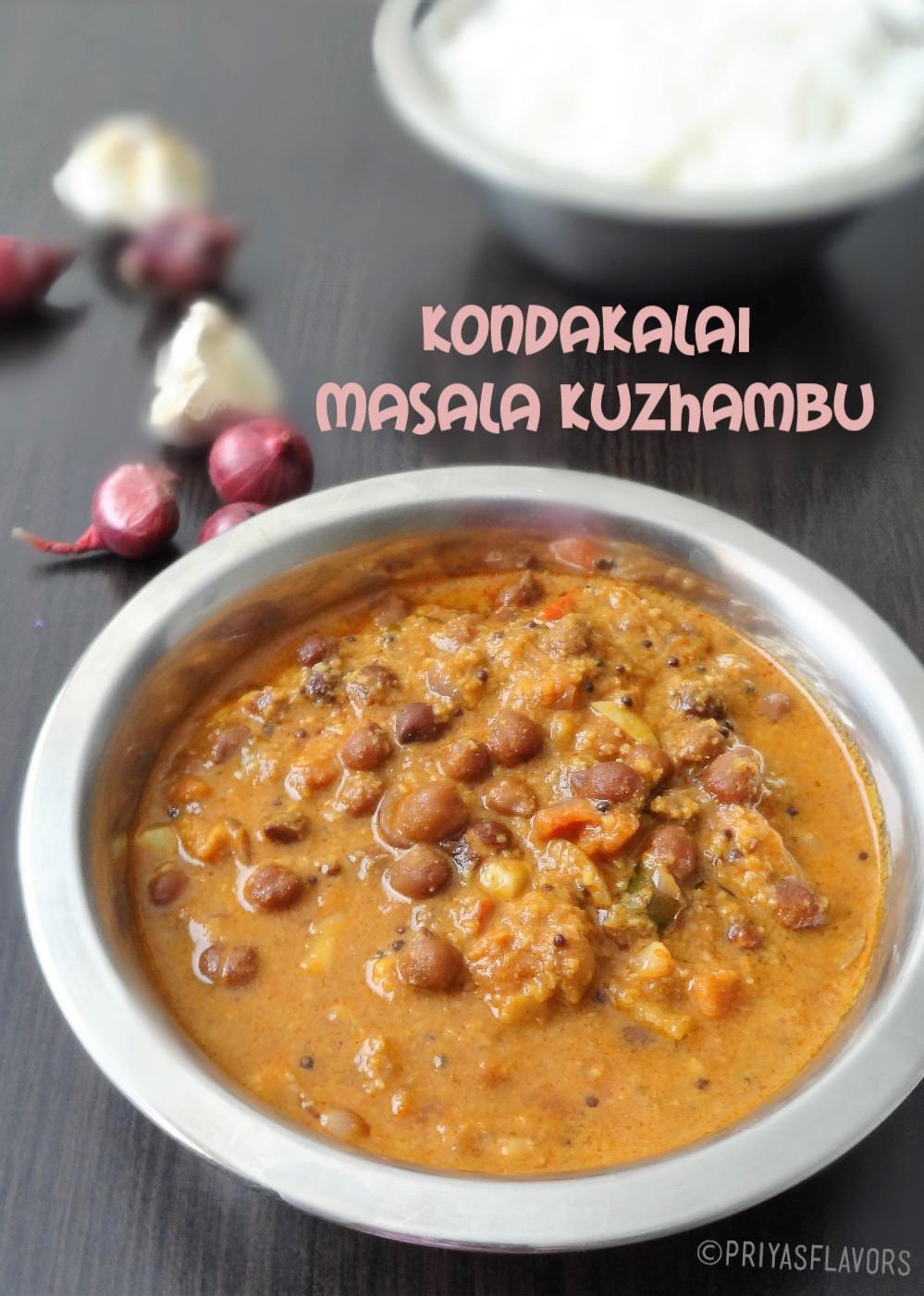 channa masala kuzhambu