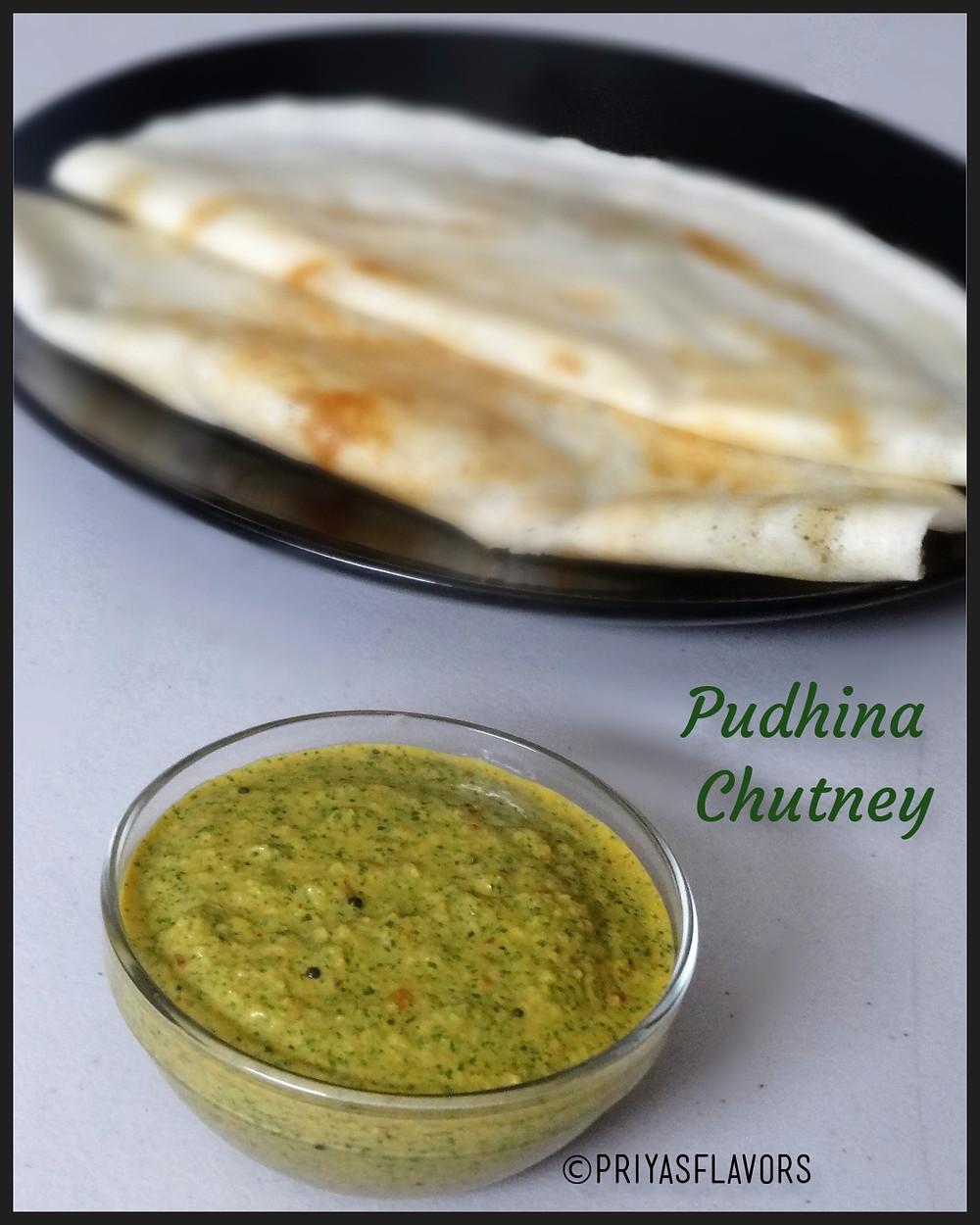 pudhina chutney
