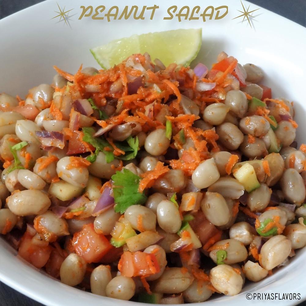 peanut salad