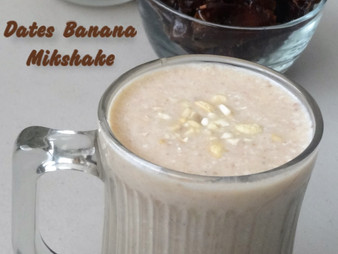 DATES BANANA MILKSHAKE