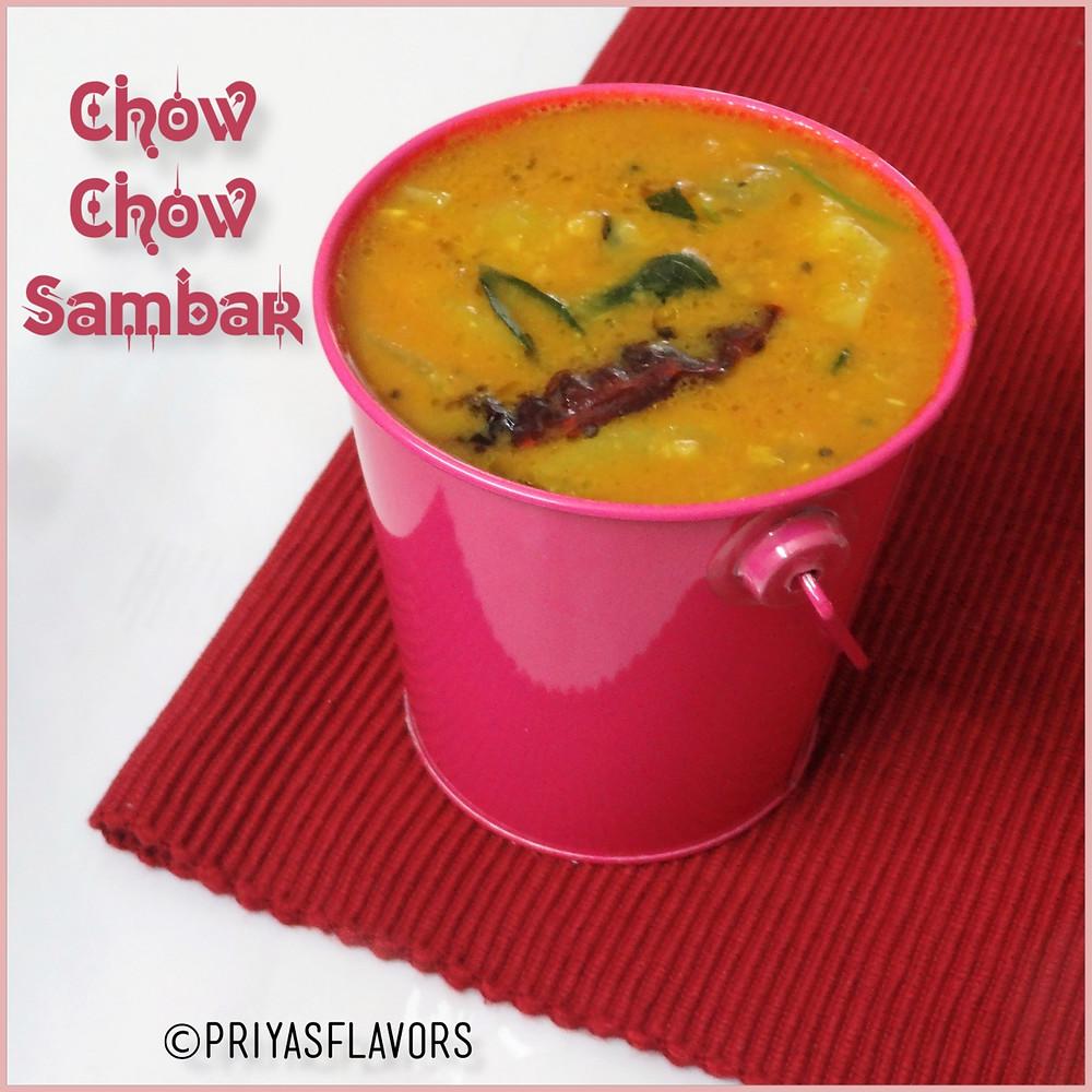 Chow Chow Sambar