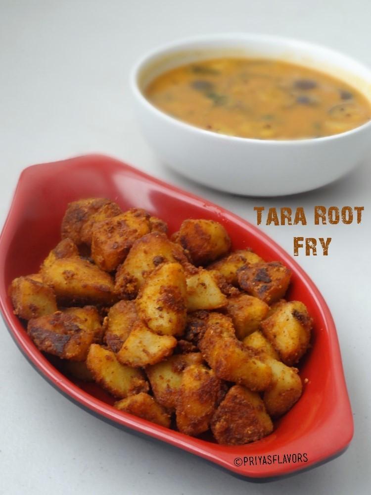 Tara root fry