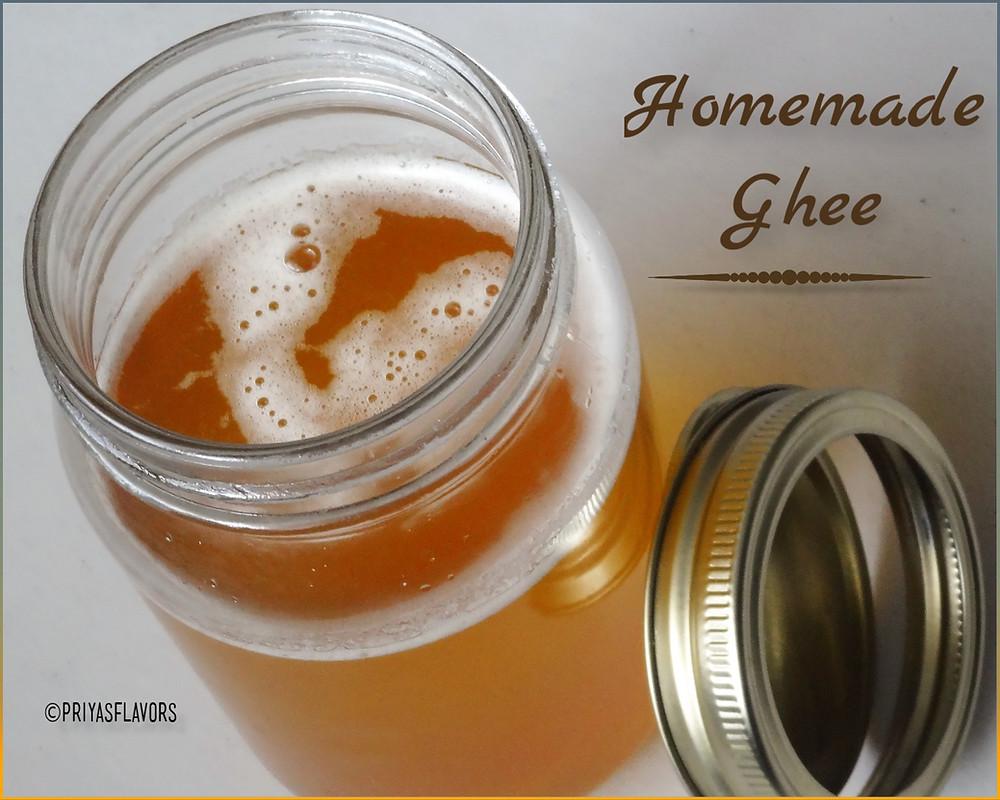 home made ghee