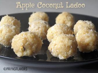 APPLE COCONUT LADOO