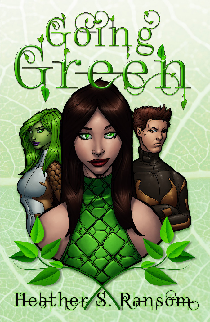 Cover of Going Green, Heather S. Ransom's book.