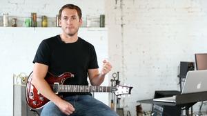 Photo of guitar teacher, Michael Palmisano