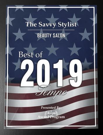 The Savvy Stylist Salon - Best Salon Award