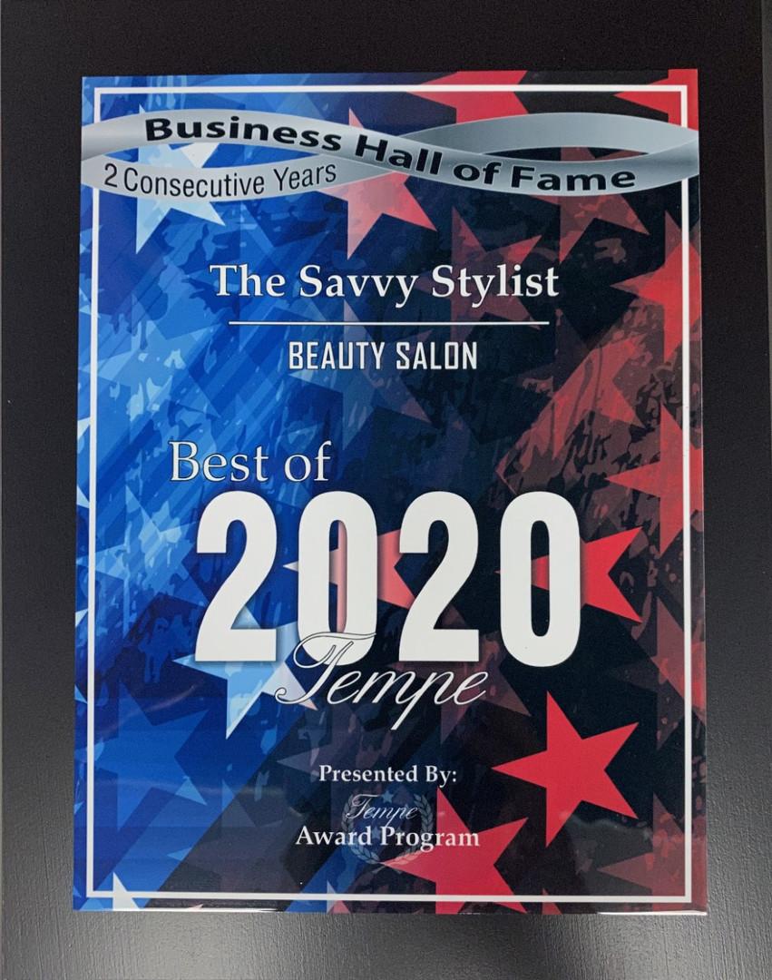 The Savvy Stylist best Award 2020