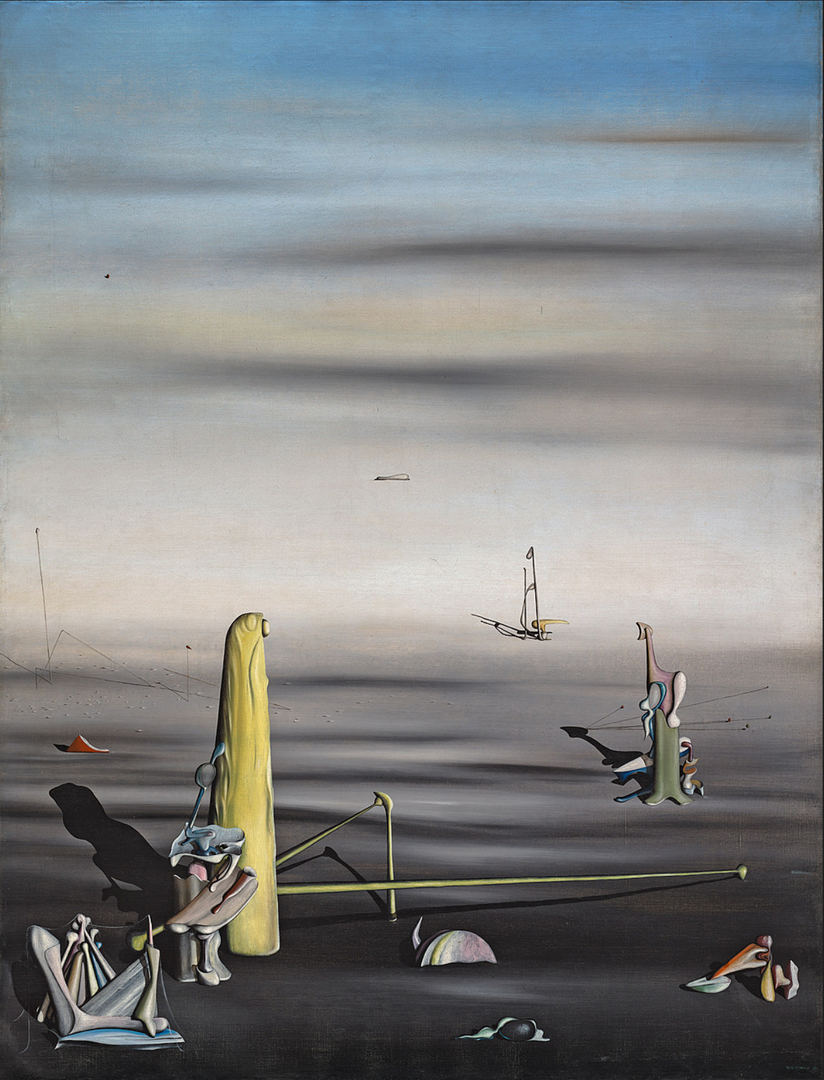 The Sun In Its Jewel Case by Yves Tanguy