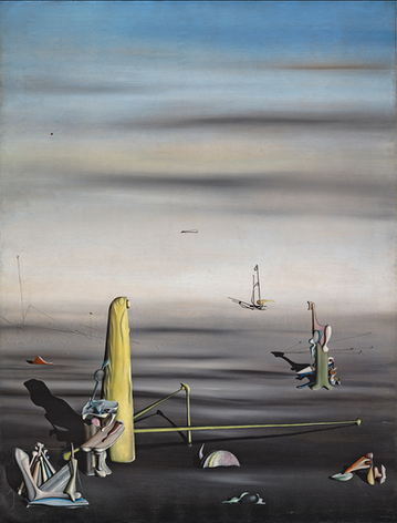 The Sun In Its Jewel Case, by Yves Tanguy